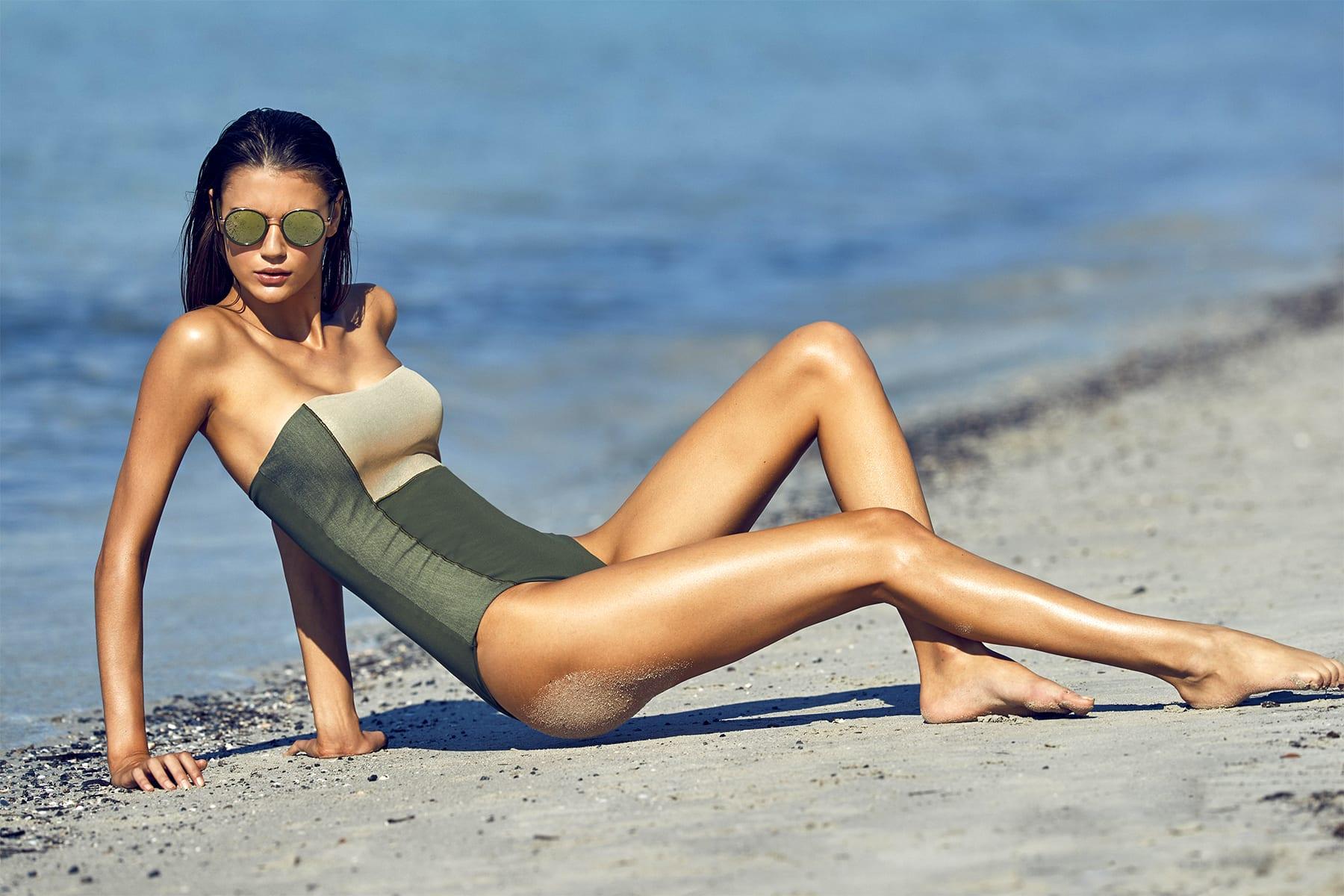 calarena, swimwear, corsica,